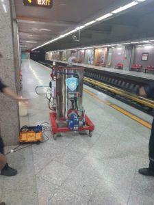 کارواش بخار و بخارشوی صنعتی مترو تهران نانوبخارشو قیمت کارواش