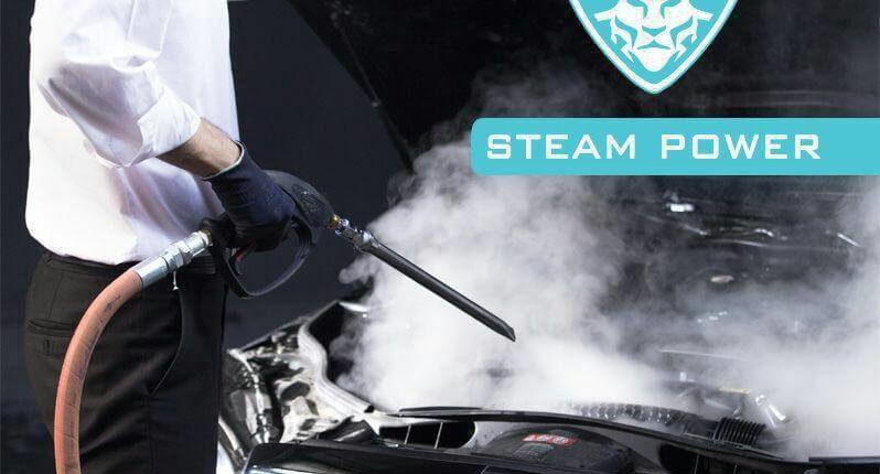 شست و شوی موتور خودرو با دستگاه بخارشوی صنعتی استیم پاور