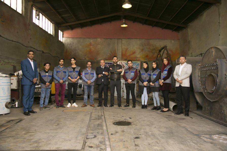 تیم استیم پاور کارواش بخار بخارشوی صنعتی سیار