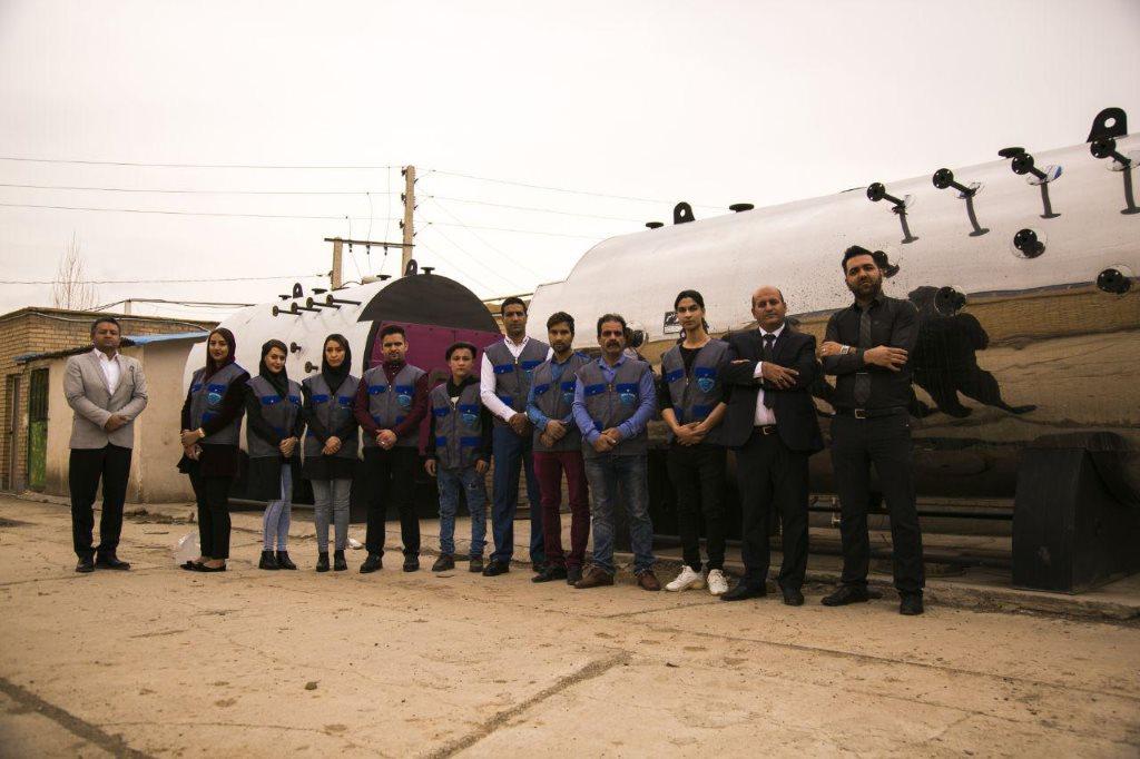 تیم استیم پاور تولیدکننده کارواش بخار و بخارشوی صنعتی