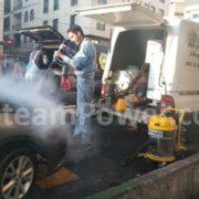 کارواش بخار و بخارشوی سیار استیم پاور دستگاه بخارشوی ماشین و اتومبیل 2