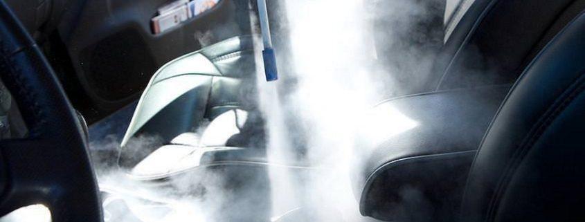 شستشوی داخل خودرو یا همان توشویی خودرو با کارواش نانو بخار یا بخارشوی خانگی