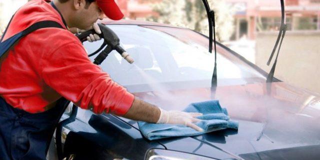 کارواش نانو بخار استیم پاور مناسب برای موتورشویی خودرو با مواد نانو بخار