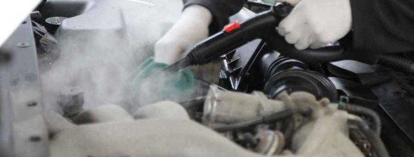 موتورشویی با بخار و نحوه انجام آن