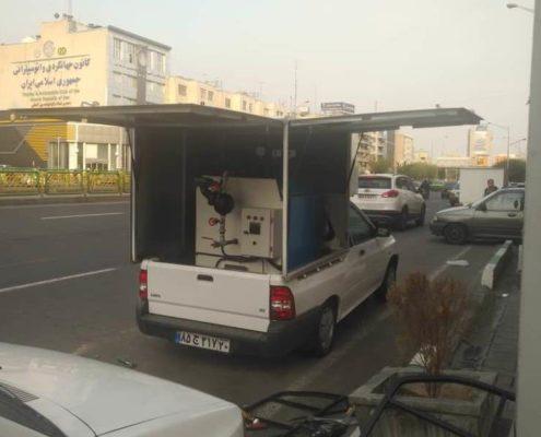 کارواش بخار سیار در تهران کارواش نانو بخار سیار