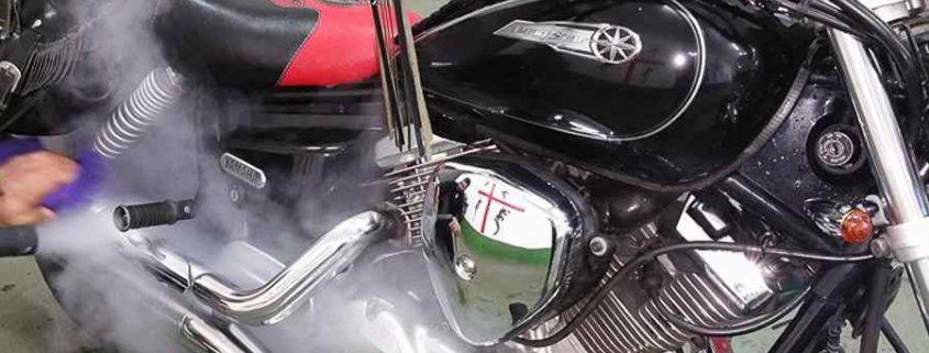 شستشو موتور سیکلت با بخار مزایای شستشو موتور سیکلت با بخار