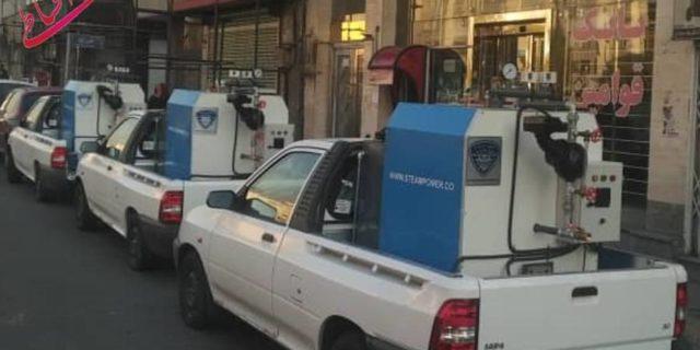 فروش اقساطی کارواش بخار سیار خرید و فروش کارواش بخار اقساطی