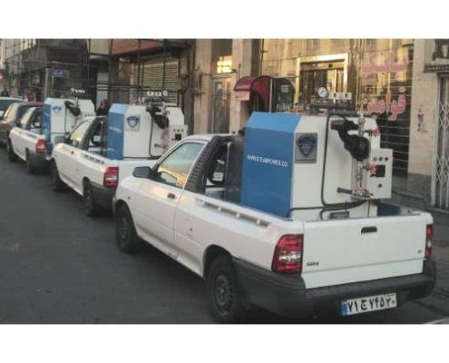 کارواش سیار در مازندران تهران