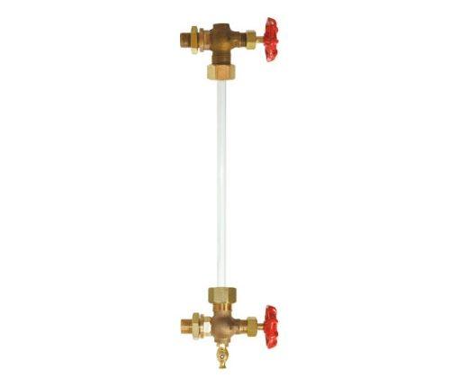 اندازگیر سطح آب در کارواش بخار مدل شیشه ای یا آبنما در کارواش بخار شیشه ای