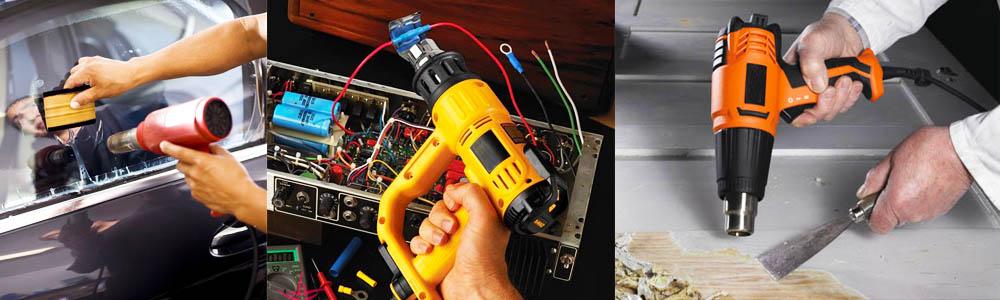 کاربرد سشوار صنعتی حرارتی