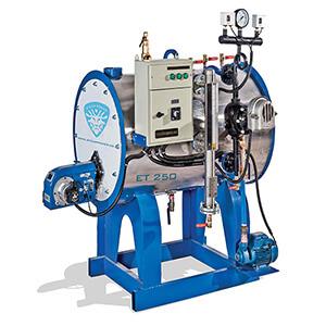 کارواش بخار اکونومی،کارواش بخار و بخارشوی صنعتی، کارواش بخار 250 لیتری،کارواش بخار ET 250،بخارشوی ET 250