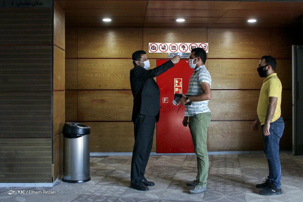 تونل ضدعفونی کننده استیم پاور در پردیس سینما گالری ملت خبرگزاری خبرآنلاین 2