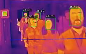 Thermal thermometer camera1 دوربین تب سنج حرارتی بدن استیم پاور (3)