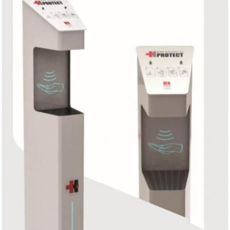 دیسپنسر-اتوماتیک-محلول-ضدعفونی-کننده-دست استیم پاور 2-2